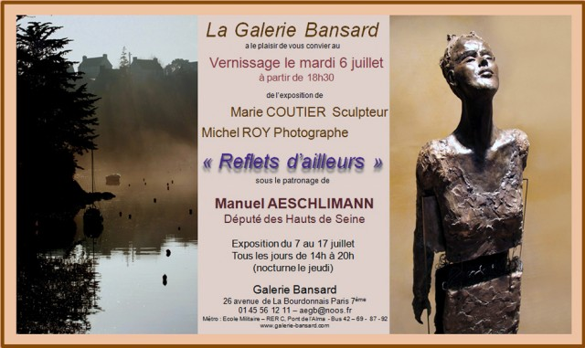 Exposition galerie Bansard
