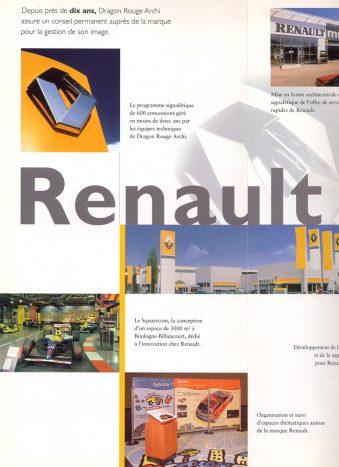 Dragon Rouge pour Renault